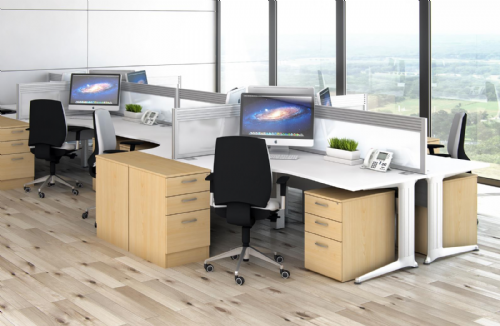 Desk High Pedestals